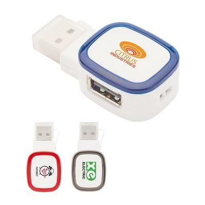 Tapa I Dual-Port USB 2.0 Hub / Reader