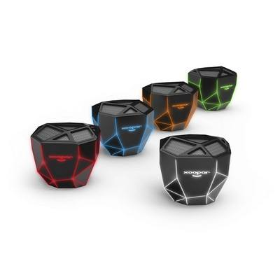 Xoopar Geo Speaker Desktop Skeletal Lighted Wireless Speaker