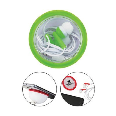 Rima Stereo Earbuds with Keyring Case