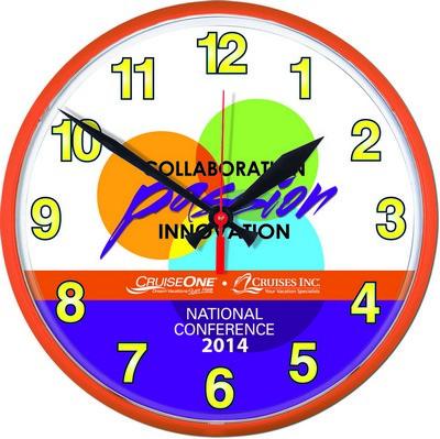 "12 3/4"" Wall Clock"