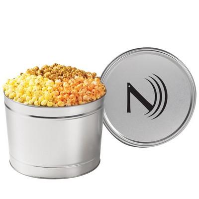 3 way Popcorn Tin