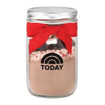 Hot Chocolate Kit in Mason Jar