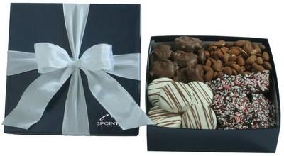 4 PC Gourmet Sampler - Blue Gift Box