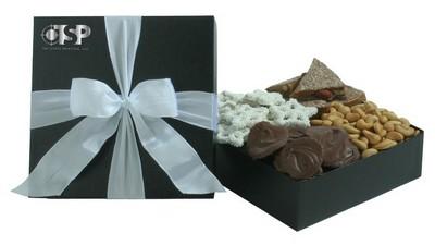 4 PC Gourmet Sampler - Black Gift Box