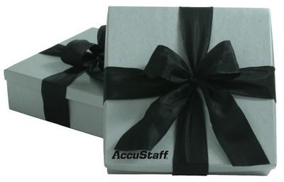 4 PC Gourmet Sampler - Silver Gift Box