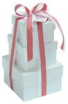 Picture of 3 PC Gift Tower- Peppermint Gift Selection