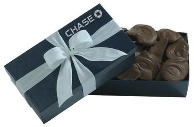 8 OZ Milk Chocolate Potato Chips - Blue Gift Box