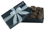 Picture of 8 OZ Milk Chocolate Potato Chips - Blue Gift Box