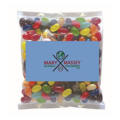 Business Card Magnet with Small Bag of Jelly Belly