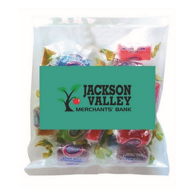Business Card Magnet with Small Bag of Jolly Ranchers