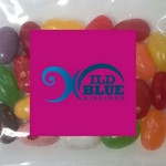 Picture of Square Magnet with Mini Bag of Jelly Bellys