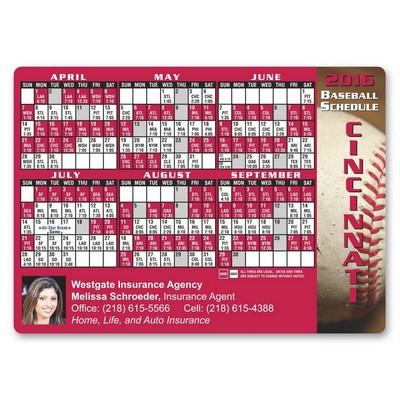 Baseball Schedule Sports Magnet