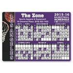 Picture of Basketball Schedule Sports Magnet