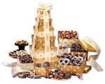 Picture of Golden Delights Tower of Sweets!