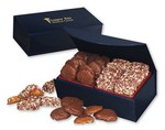 Picture of Toffee & Turtles in Navy Magnetic Closure Gift Box