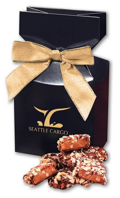 English Butter Toffee in Navy Gift Box
