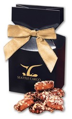 Picture of English Butter Toffee in Navy Gift Box