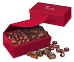 Picture of Chocolate Almonds & Sea Salt Caramels in Red Magnetic Box