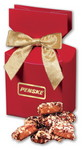 Picture of English Butter Toffee in Red Gift Box