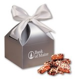 Picture of English Butter Toffee in Silver Gift Box