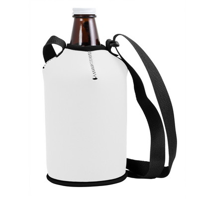 Neoprene Growler Cover with Strap