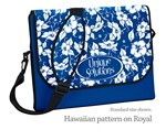 "Picture of 14"" Neoprene Messenger Bag with strap - Four Color Process"