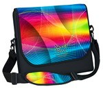 "Picture of 15"" Neoprene Messenger Bag with strap - Four Color Process"