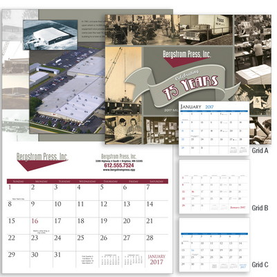 Custom Stapled Calendar