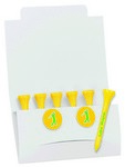 """Picture of 6-2 Golf Tee Packet - 2-1/8"""" Tee"""
