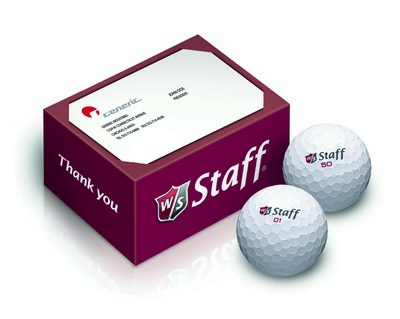 Wilson 2-Ball Thank You Box