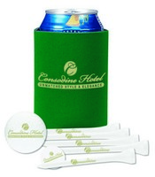 Collapsible KOOZIE Dlx Golf Event Kit - Titleist DT SoLo