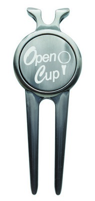 Deluxe Magnetic Divot Repair Tools with Ball Marker