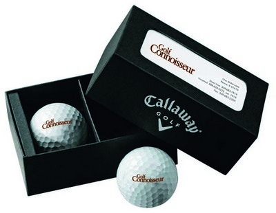 Callaway 2-Ball Business Card Box - Super Soft