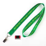 Picture of Nylon Lanyard with Bullnose Clip & Break Away