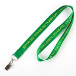 Picture of Nylon Lanyard with Bullnose Clip