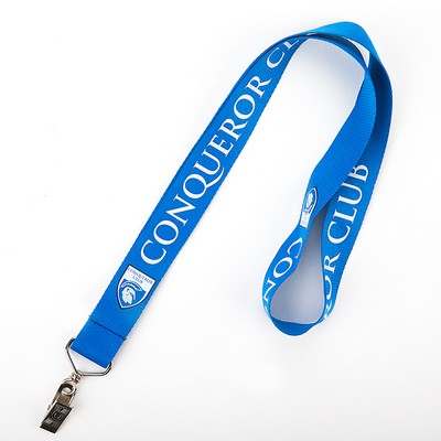 Polyester Lanyard with Bullnose Clip