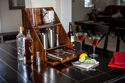 Personalised Madison Table Top Bar