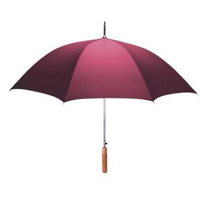 48″ Auto Open Stick Umbrella - One Color Imprint