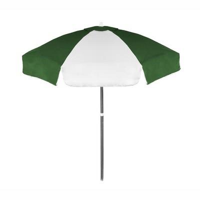 Vinyl Patio Café Umbrella - One Color Imprint