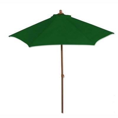 Aluminum 6 Feet Market Umbrella - One Color Imprint