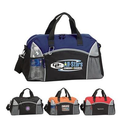 Modern Duffel Bag with Carabiner