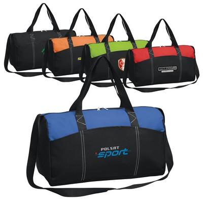 Dual Tone Duffel Bag