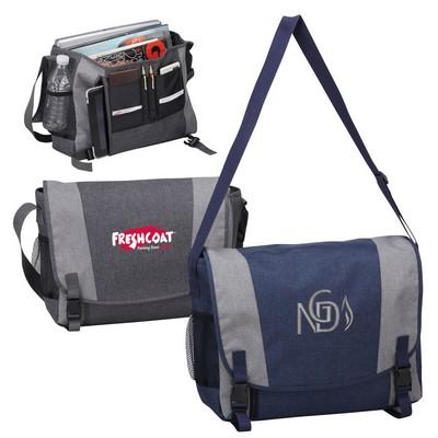 Urban Messenger Bag with Laptop Sleeve