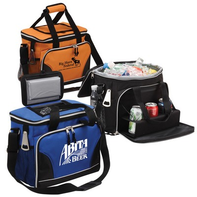 24 Pack Cooler with Tray and Bottle Opener