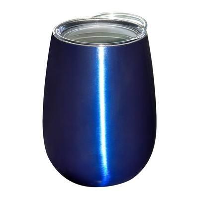 10 oz. Stemless Vacuum Wine Tumbler w/ Lid