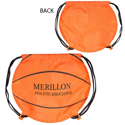 GameTime Basketball Drawstring Bag