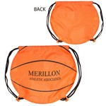 Picture of GameTime Basketball Drawstring Backpack