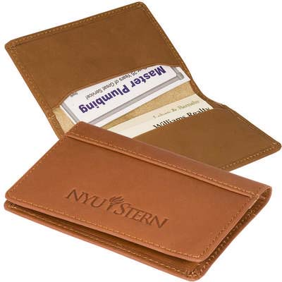 Fire Island Leather Business Card Case