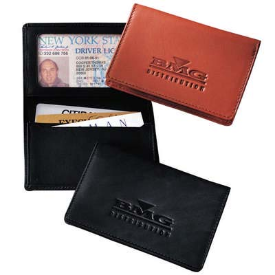 Jersey Leather Id Card Case