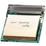 Picture of Atrium Glass Message Pad Holder